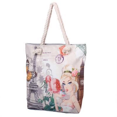 b9a1e50e5376 Женская пляжная тканевая сумка ETERNO (ЭТЕРНО) DET1808-8 купить в ...