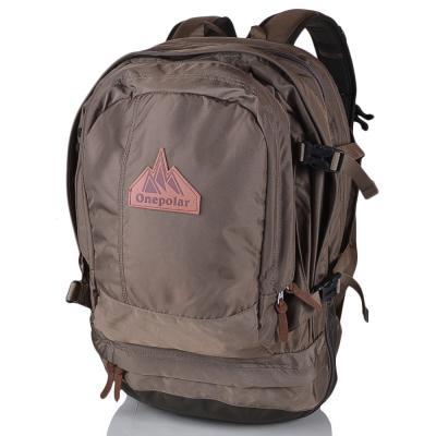 Мужской рюкзак с отделением для ноутбука ONEPOLAR (ВАНПОЛАР) W1771-hakki Onepolar