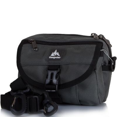 Мужская спортивная сумка ONEPOLAR (ВАНПОЛАР) W3172-grey Onepolar