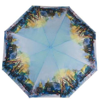 Зонт женский компактный полуавтомат ZEST (ЗЕСТ) Z24665-2033 Zest