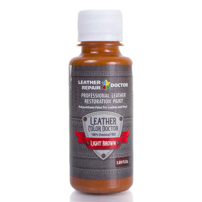 Профессиональная краска для кожи LEATHER REPAIR DOCTOR, серия LEATHER COLOR DOCTOR T459568-1-light-brown-125 Leather Repair Doctor