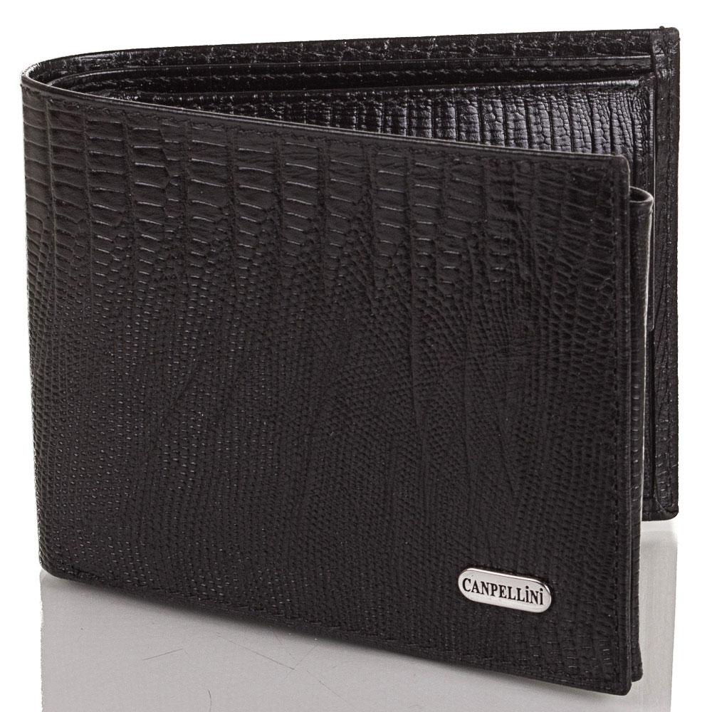 Мужской кожаный кошелек CANPELLINI (КАНПЕЛЛИНИ) SHI1042 Canpellini