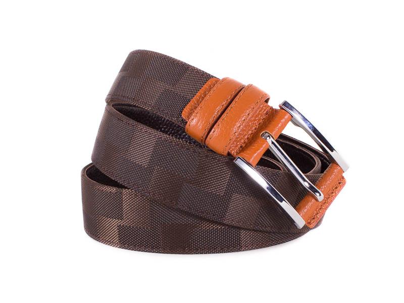 Мужской кожаный ремень ETERNO (ЭТЭРНО) E355701 Eterno