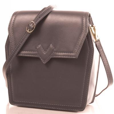 Женская кожаная сумка-клатч VALENTA (ВАЛЕНТА) VBE61582320 Valenta