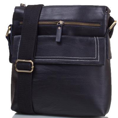Мужская кожаная сумка-планшет ETERNO (ЭТЭРНО) TU5335-black Eterno