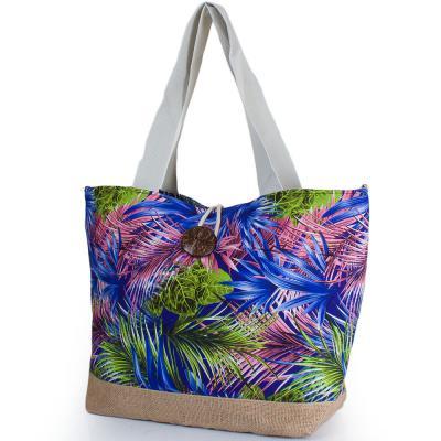 Женская пляжная тканевая сумка ETERNO (ЭТЕРНО) DCT-296-2-05 Eterno