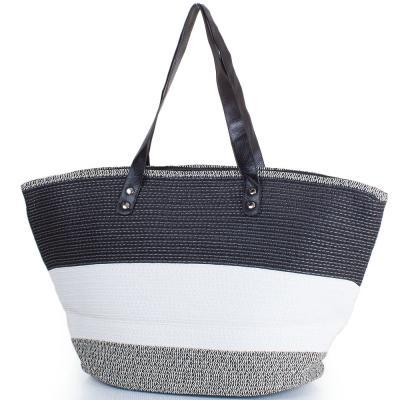 Женская пляжная соломенная сумка ETERNO (ЭТЕРНО) DCP-05-02 Eterno