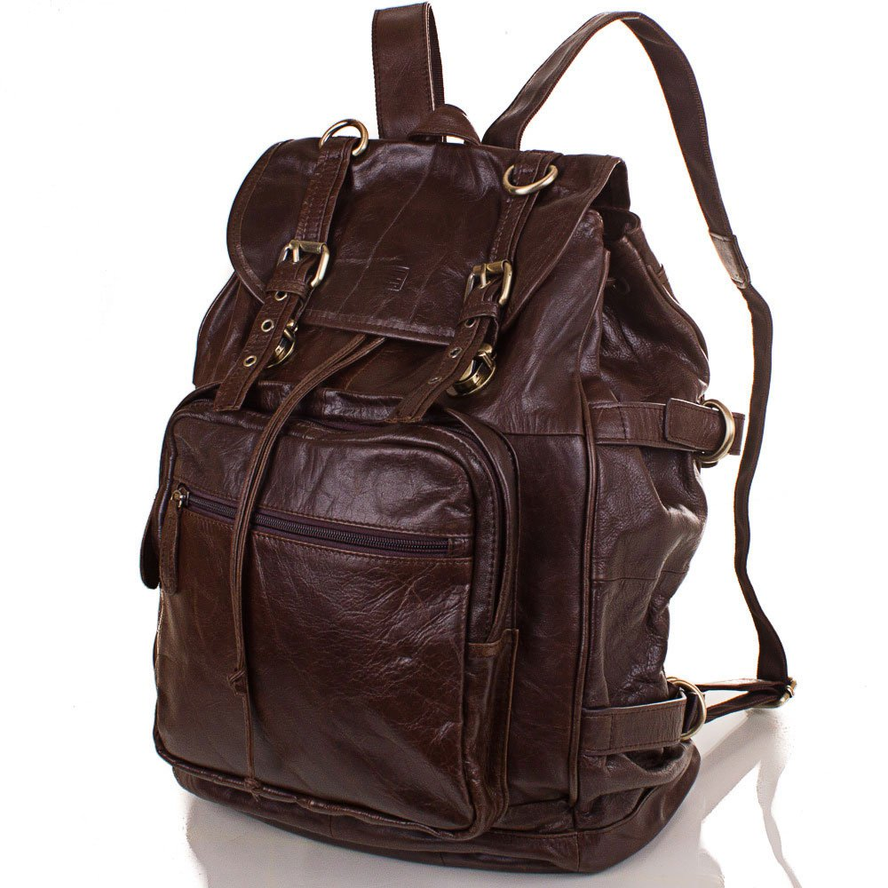 Мужской кожаный рюкзак ETERNO (ЭТЭРНО) ET1015 Eterno