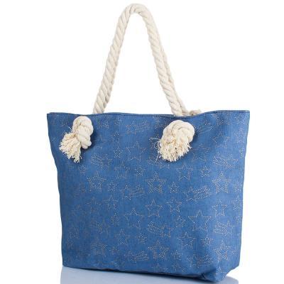 Женская пляжная джинсовая сумка ETERNO (ЭТЕРНО) DCA-003-01 Eterno