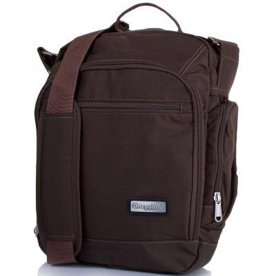Мужская спортивная сумка ONEPOLAR (ВАНПОЛАР) W5259-coffee Onepolar
