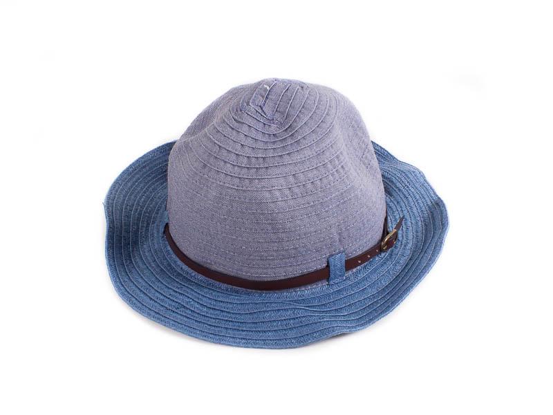 Шляпа женская ETERNO (ЭТЕРНО) EH-63-blue Eterno