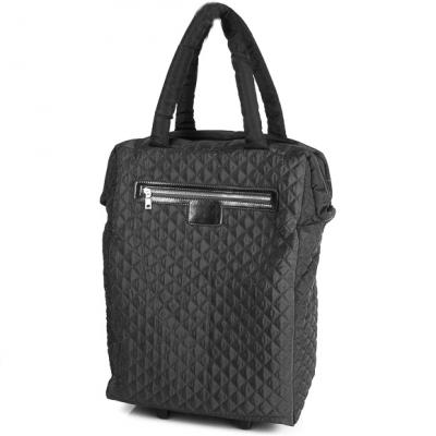 Дорожная сумка на 4-х колесах  ETERNO (ЭТЭРНО) TU9332-black Eterno