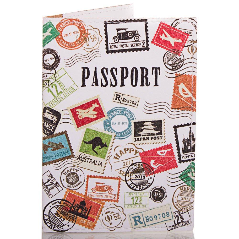 Женская обложка для паспорта PASSPORTY (ПАСПОРТУ) KRIV073 Passporty