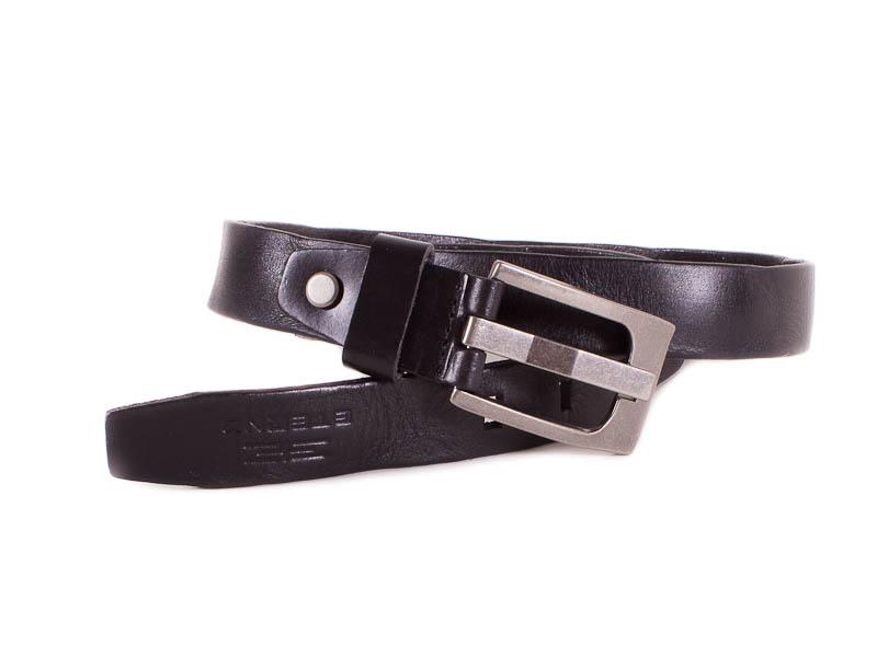 Женский кожаный ремень ETERNO (ЭТЭРНО) E7603-black Eterno