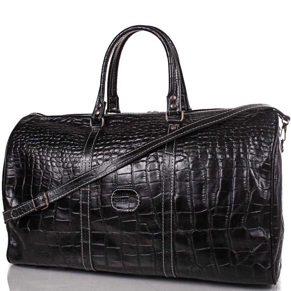 Кожаная мужская дорожная сумка DESISAN (ДЕСИСАН) SHI505-D-2KR Desisan