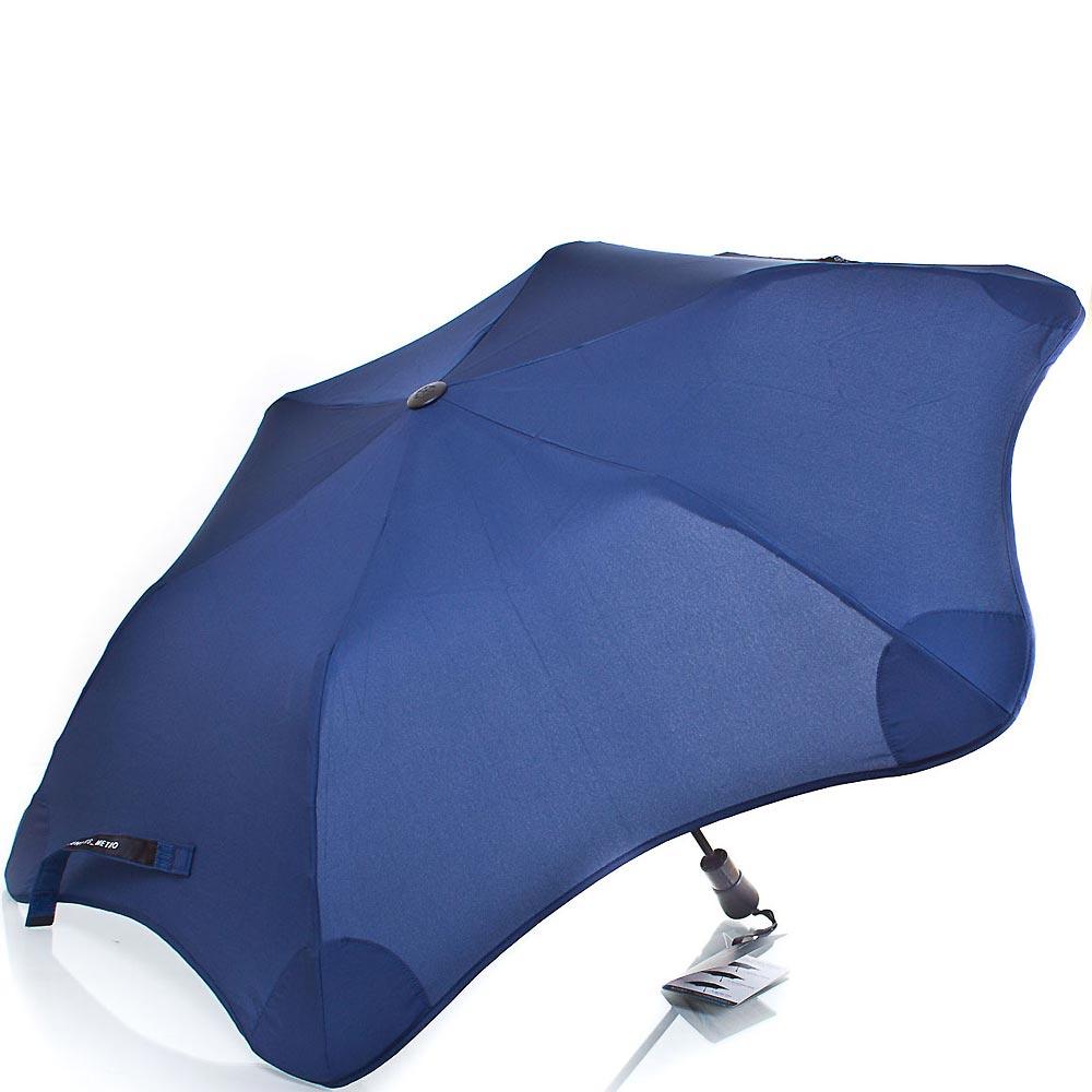 Противоштормовой зонт женский полуавтомат BLUNT (БЛАНТ) Bl-xs-navy Blunt