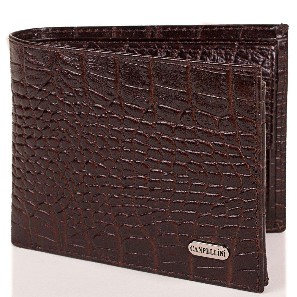 Мужской кожаный кошелек CANPELLINI (КАНПЕЛЛИНИ) SHI1042-10 Canpellini