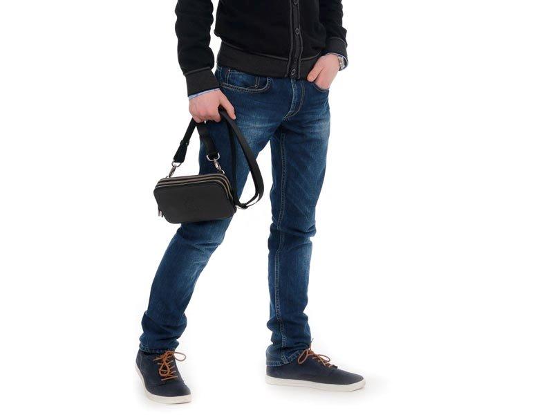 Несессер мужской кожаний Jack Bag (Джек Бэг) LC10204-black Jag Bag (Киев) .