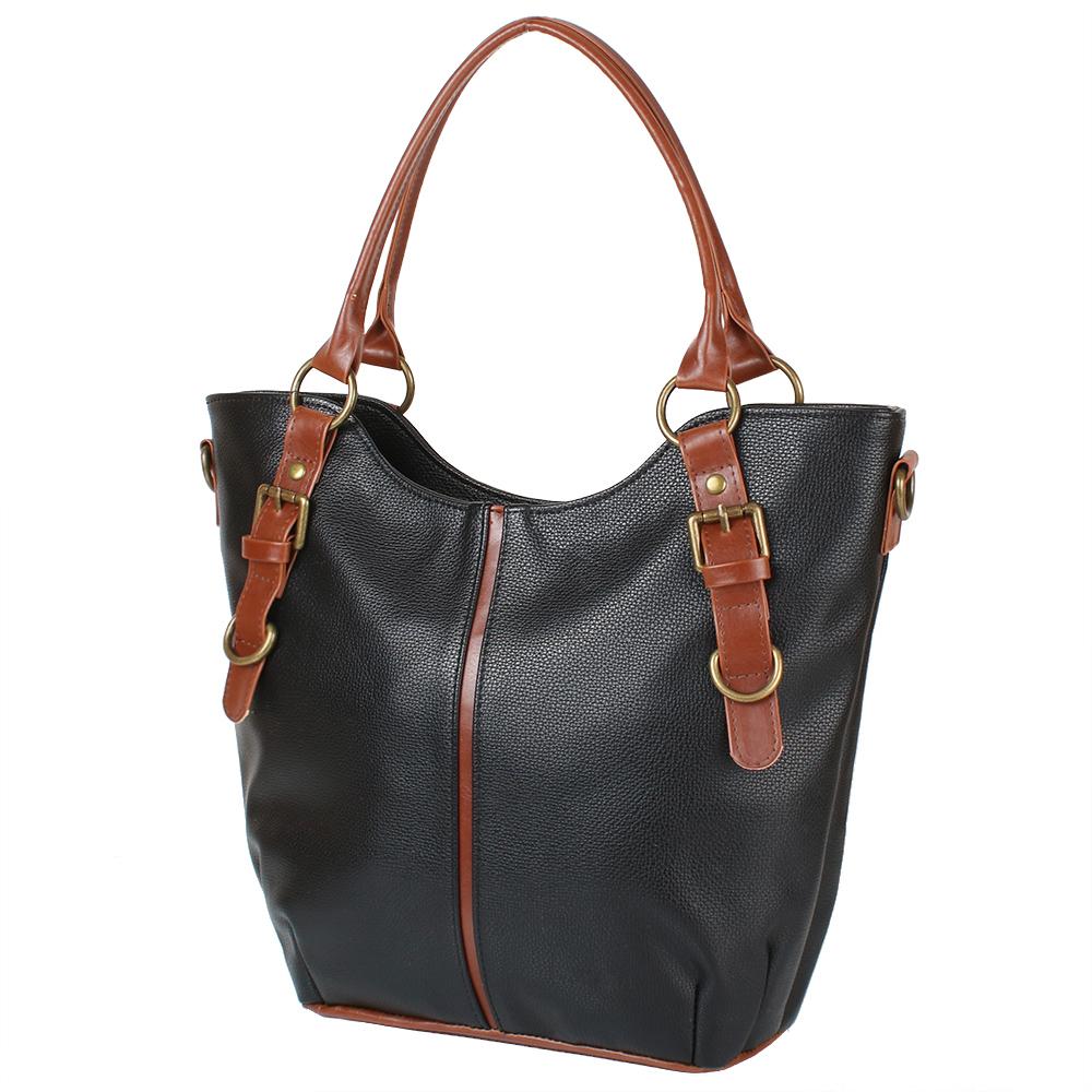 6ac42bb03959 Женская сумка из качественного кожезаменителя LASKARA (ЛАСКАРА)  LK10186-black купить в Киеве - интернет магазин Trade-City: лучшие цены и  фото!