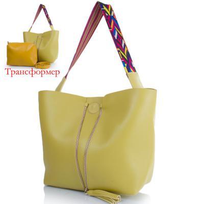 Женская сумка-трансформер из качественного кожезаменителя ETERNO (ЭТЕРНО) ETK719-3 Eterno
