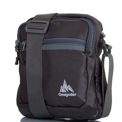 Мужская спортивная сумка ONEPOLAR (ВАНПОЛАР) W5632-grey Onepolar