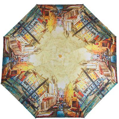 Зонт женский компактный полуавтомат ZEST (ЗЕСТ) Z24665-5026 Zest