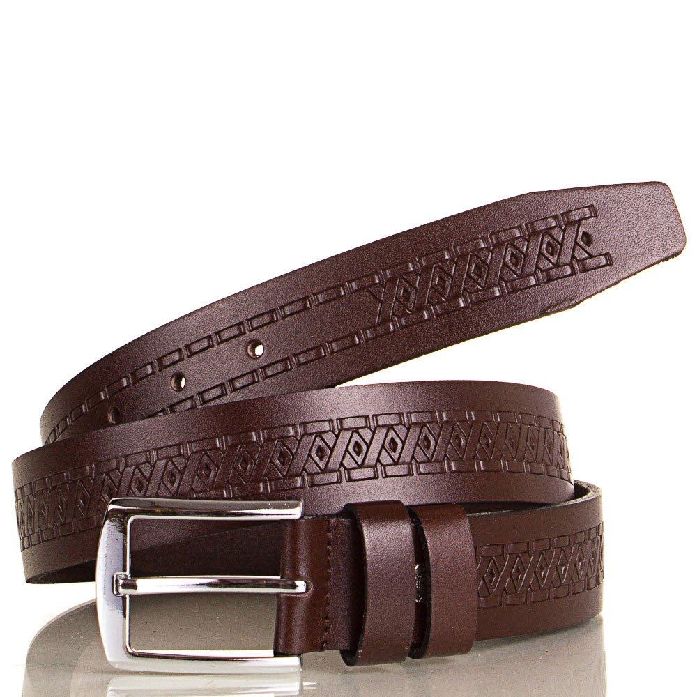 Ремень мужской кожаный Y.S.K. (УАЙ ЭС КЕЙ) SHI3036-10 Y.S.K