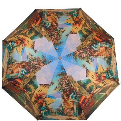 Зонт женский компактный полуавтомат ZEST (ЗЕСТ) Z24665-4012 Zest