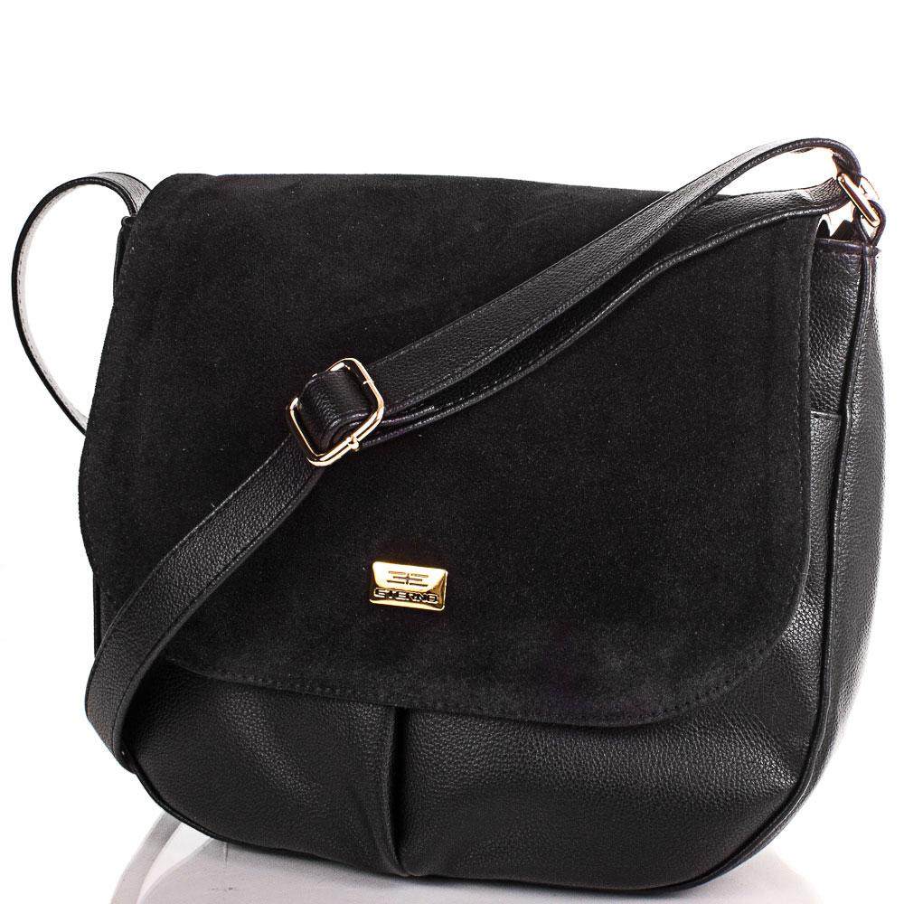 Женская сумка из натуральной замши и качественного кожезаменителя ETERNO (ЭТЕРНО) ETMS0594-2