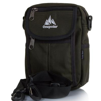 Мужская спортивная сумка ONEPOLAR (ВАНПОЛАР) W4177-green Onepolar