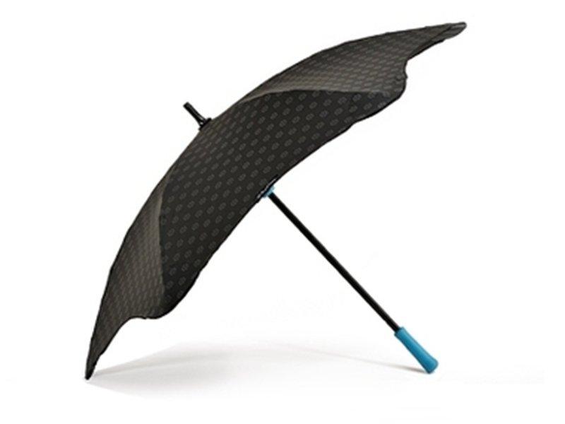 Противоштормовой зонт-трость женский механический BLUNT (БЛАНТ) Bl-mini-plus-blue Blunt