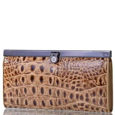 Кошелек женский кожаный WANLIMA (ВАНЛИМА) W50046749-beige Wanlima