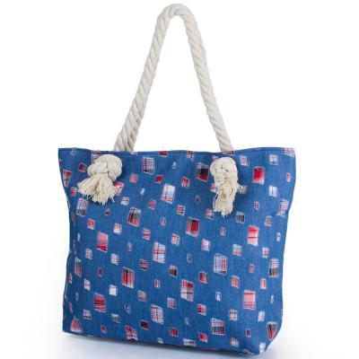Женская пляжная джинсовая сумка ETERNO (ЭТЕРНО) DCA-001-01 Eterno