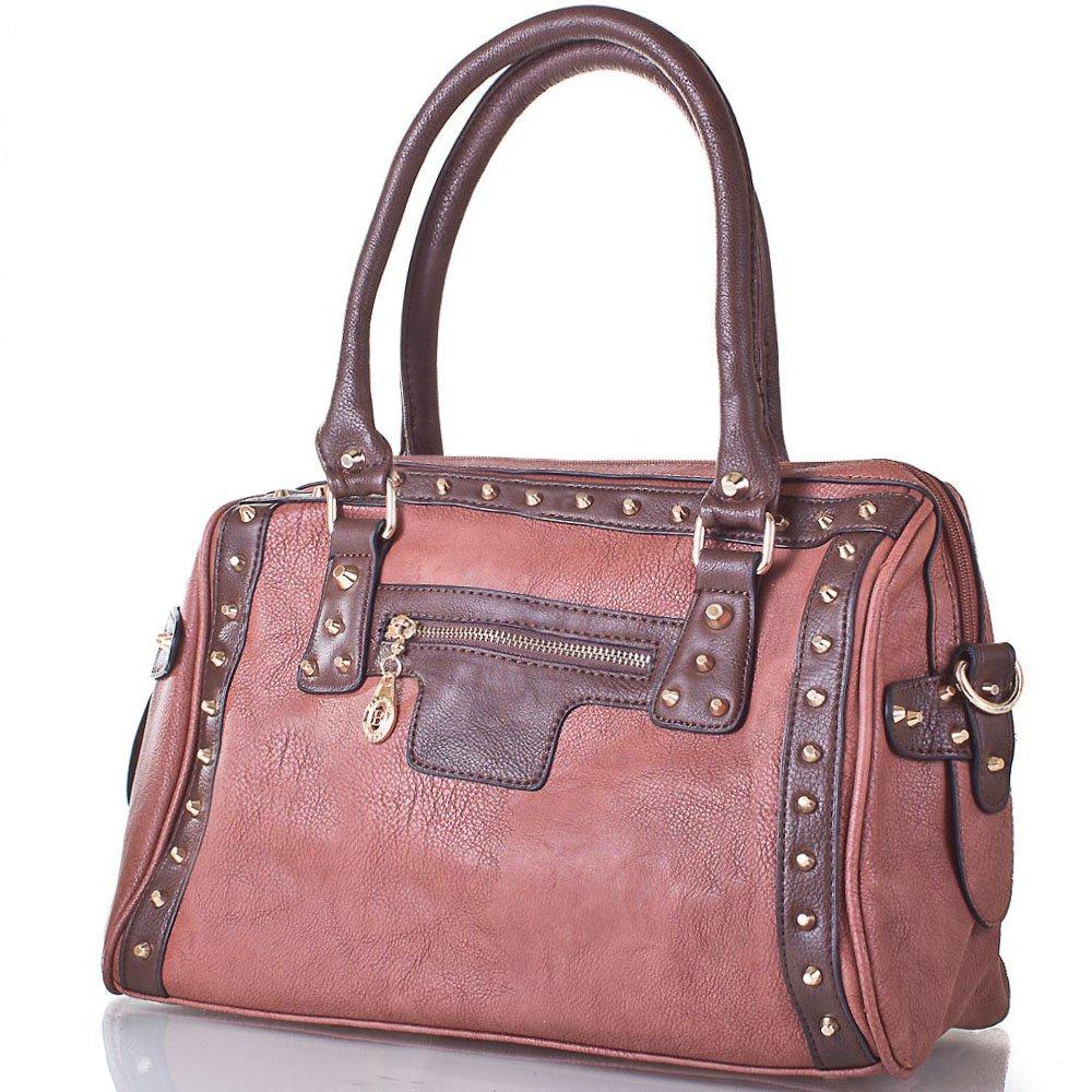 Женская сумка из качественного кожезаменителя BELIFORD (БЕЛИФОРД) BAL8015-brown 44814