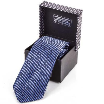 Мужской широкий шелковый галстук ETERNO (ЭТЕРНО) ETEG676 Eterno