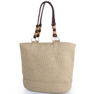 Женская пляжная соломенная сумка ETERNO (ЭТЕРНО) DCP-06-01 Eterno