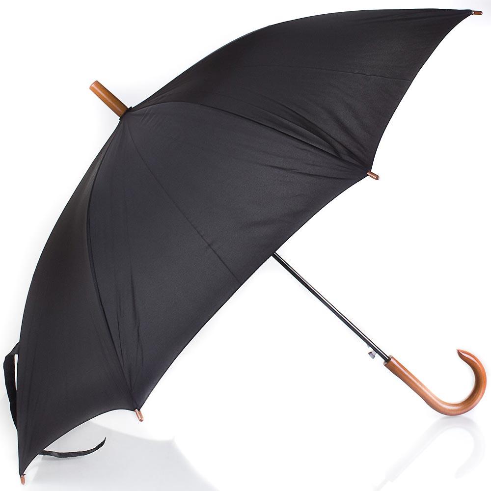 Зонт-трость мужской полуавтомат FARE (ФАРЕ) FARE1132-black FARE