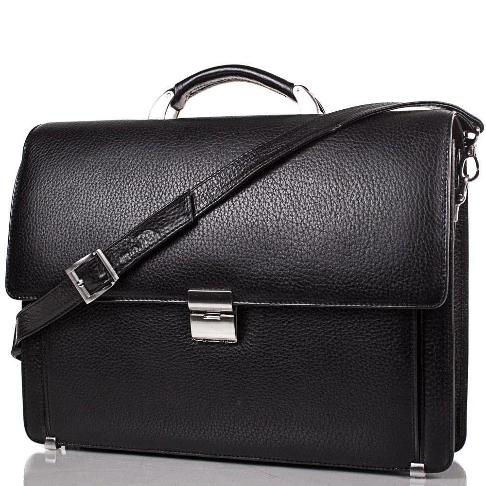 Портфель мужской кожаный  DESISAN (ДЕСИСАН) SHI205-2FL Desisan