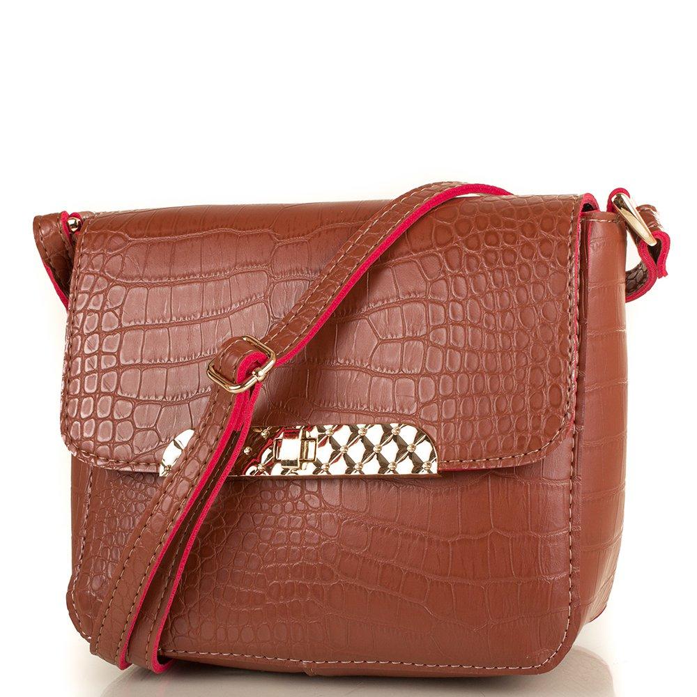 Женская сумка из качественного кожезаменителя МІС MS35131-10 51617