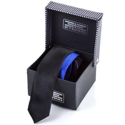 Мужской узкий шелковый галстук ETERNO (ЭТЕРНО) ETEG681 Eterno