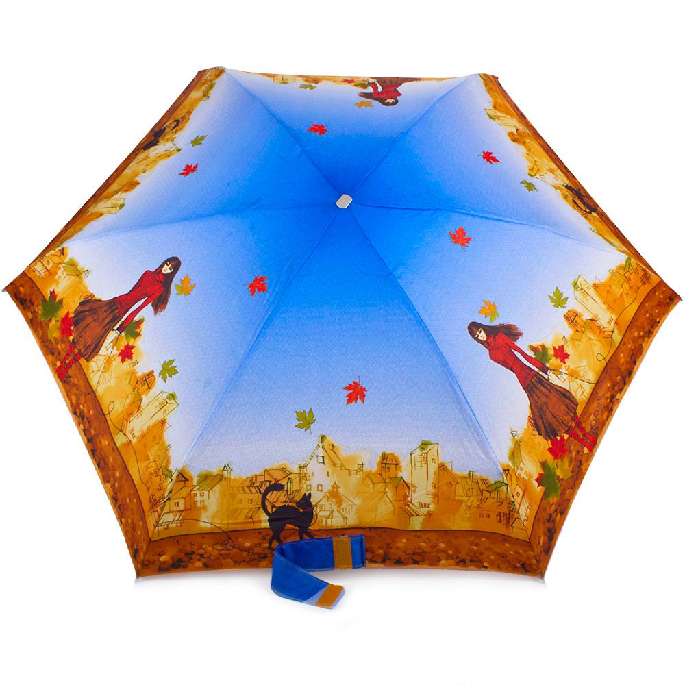 Зонт женский облегченный компактный механический ZEST (ЗЕСТ) Z55516-12 Zest