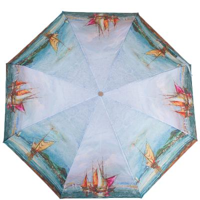 Зонт женский компактный полуавтомат ZEST (ЗЕСТ) Z24665-5011 Zest