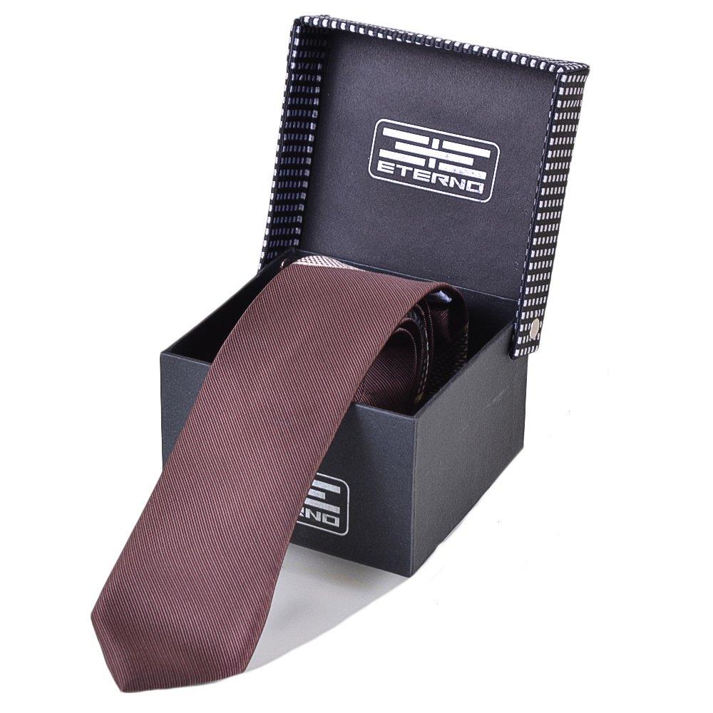 Мужской шелковый галстук ETERNO (ЭТЕРНО) EG593 Eterno