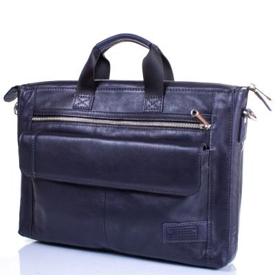 Кожаная мужская сумка ETERNO (ЭТЭРНО) ERM415BL Eterno