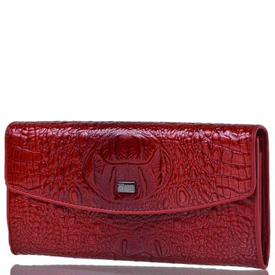 Кошелек женский кожаный WANLIMA (ВАНЛИМА) W72042420835-red Wanlima