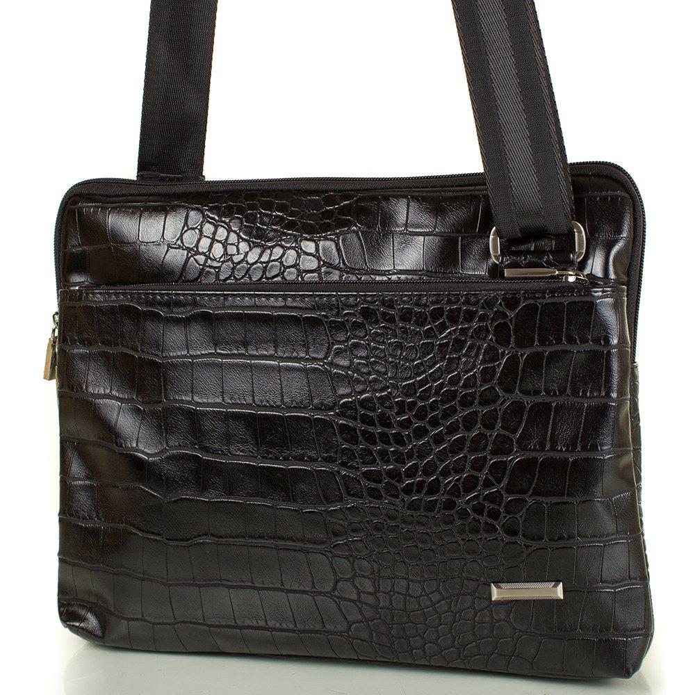 Мужская сумка-планшет из качественного кожезаменителя U.DUX (Ю.ДАКС) MS34155-805 51449