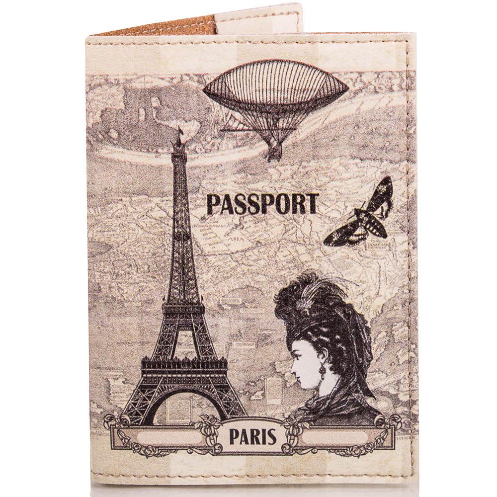 Женская обложка для паспорта PASSPORTY (ПАСПОРТУ) KRIV018 Passporty