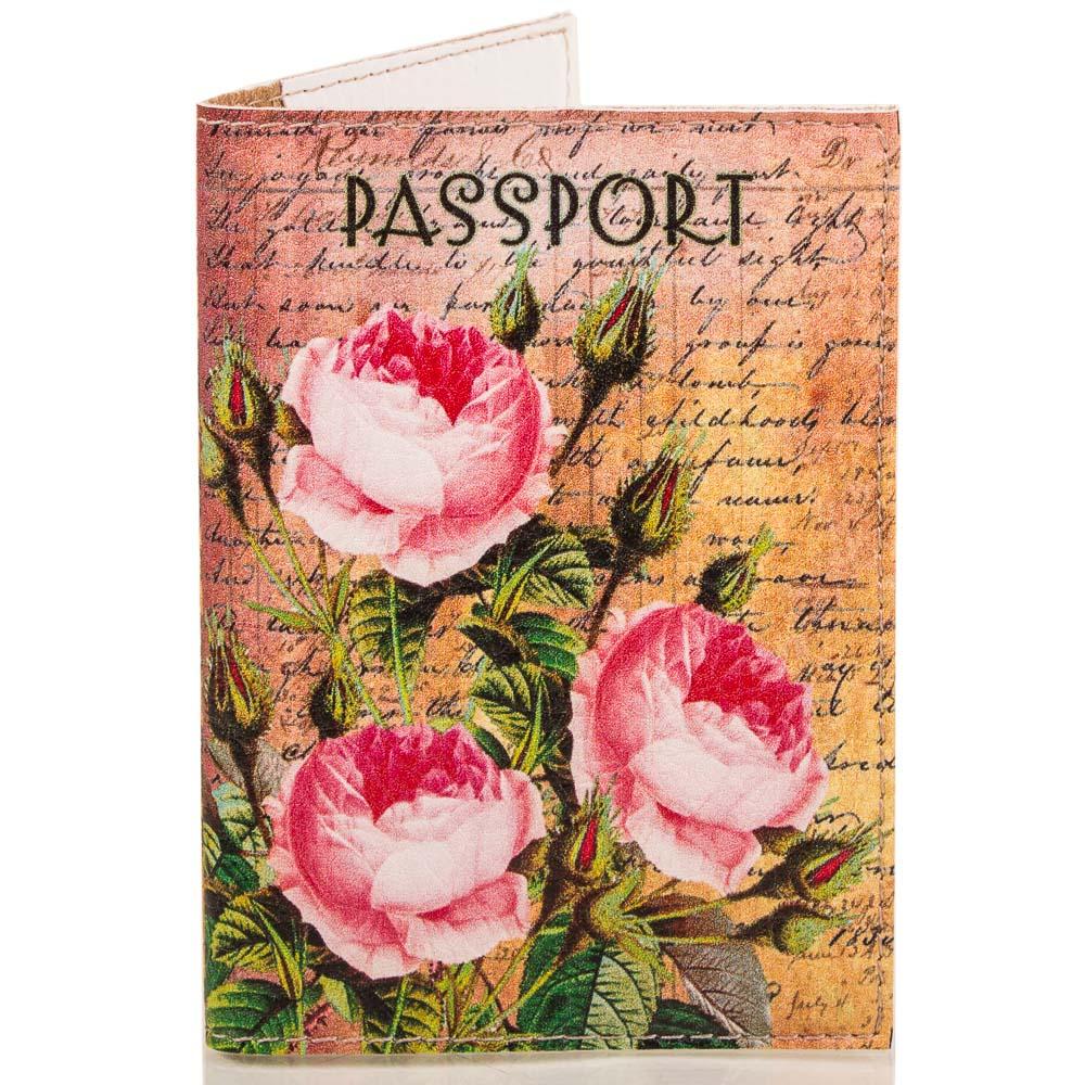 Женская обложка для паспорта PASSPORTY (ПАСПОРТУ) KRIV092 Passporty