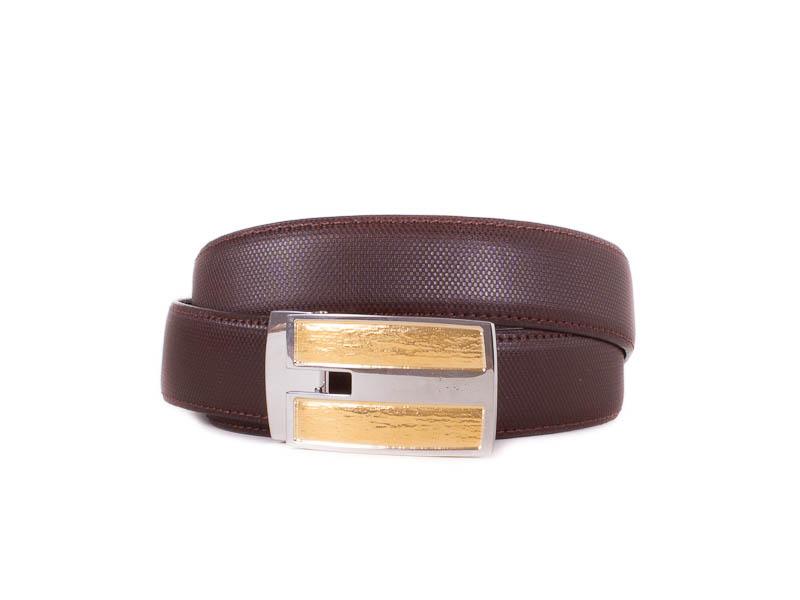 Мужской кожаный ремень ETERNO (ЭТЭРНО) E355709 Eterno