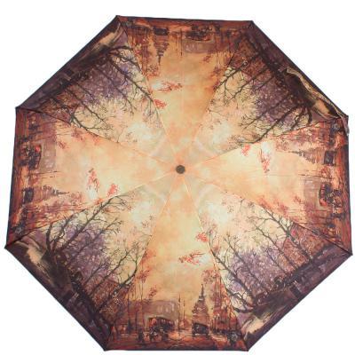 Зонт женский компактный полуавтомат ZEST (ЗЕСТ) Z24665-4075 Zest